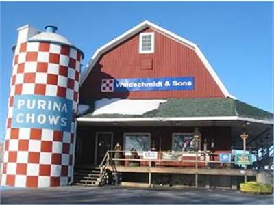 Your store with the checkerboard silo