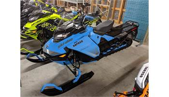 2019 Backcountry X 850 E-TEC SHOT Octane Blue & Black