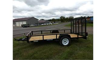 7x12 Tube Top Landscape Trailer