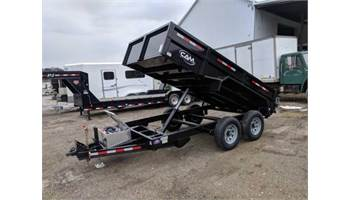 5CAM612LPD   6x12 Low Profile Dump Trailer