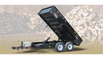 Advantage 10-612LPDT (6x12) Low Pro Dump Trailer *NO RAMPS*
