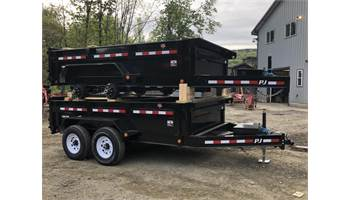 83x12 Low Pro Dump w/ Drop Axles