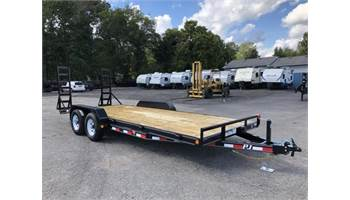 "18' x 5"" Channel Equipment Trailer"
