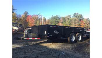 "6'8""x12 Cam Advantage Low Pro Heavy Duty dump Trailer"