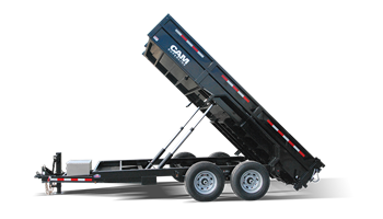 6CAM612 Low Profile Heavy Duty Dump Trailer