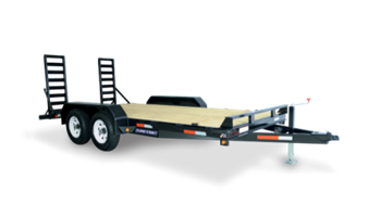 14ft 14,000 gvw Skid Steer Trailer