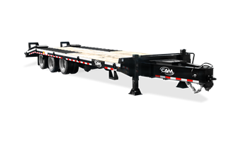 20 & 25 ton Heavy Duty Deckover Trailer *Optional Air Powered Ramps*