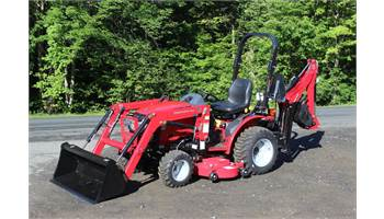 MAX24 HST Tractor Loader Backhoe & Mid Mower Package