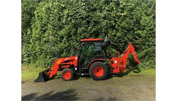 CK3510SE HST  Tractor Loader w/ Factory Cab & Backhoe