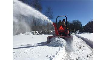 "LYNX 52"" 3pt hitch Tractor Snowblower"