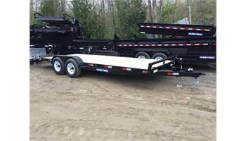7x18 Channel Car Hauler w/ ramps *10,000 GVW