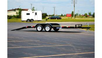 7x16 Channel Car Hauler Wood deck  - 7,000 GVW