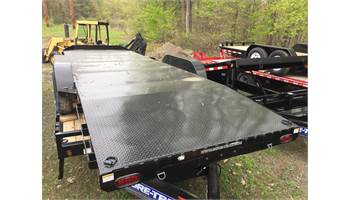 20 steel deck car hauler