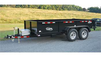 "6'8""x14' Advantage Low Profile Heavy Duty Dump Trailer"
