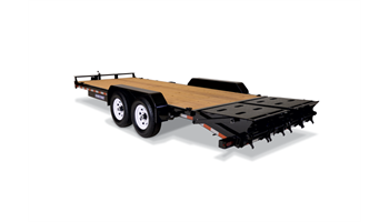 7x18ft Universal Ramp Implement Equipment Trailer
