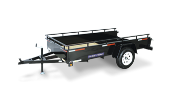 5 x 10 High Steel Sided Trailer