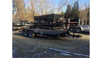 7x18 Car Hauler Style Steel Deck Trailer *HEAVY DUTY*