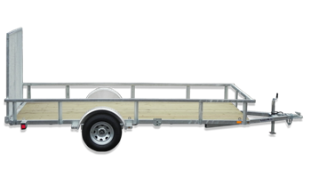 5.5x11ft Single Axle utility trailer