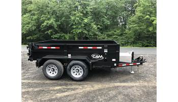 6x10 Low Profile Dump Trailer