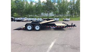 7 x 22ft Low Profile Split Tilt Trailer