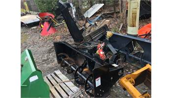 "Meteor 3pt hitch 75"" rear Tractor 3pt snowblower"