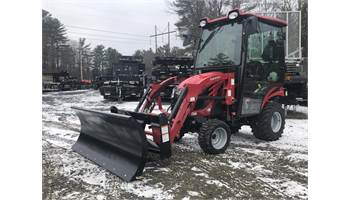 eMax 20s HST Cab Tractor w/ Loader & 5ft Snowplow Package
