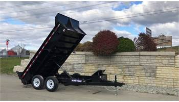 "72""x12' Low Profile Dump Trailer"
