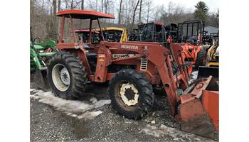 AGCO 55-66 4x4 Tractor w/ Loader & Forks & Bale Spear