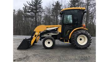 7532 32HP HST 4x4 Tractor w/ Loader & SIMS Hard Glass Cab  (Mahindra 3215)
