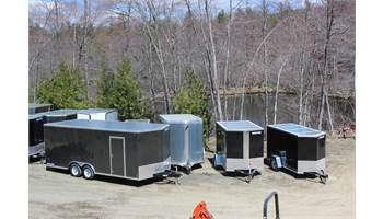 Huge Lot full of Enclosed Trailers for Bike Week!!! Great Deals!!