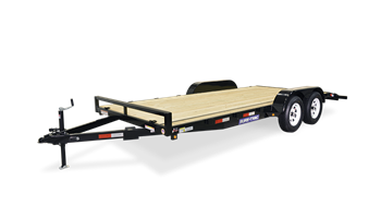 16ft Wood Deck Car Hauler