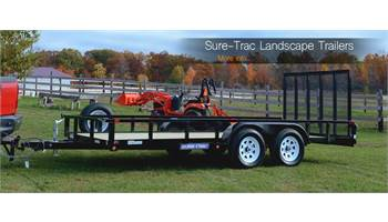 10,12,14,16 ,18 and 20ft Landscape Trailers in stock
