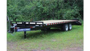 "102""x20 + 5 ft Deckover Tandem axle Trailer"