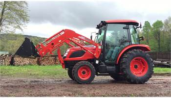 NX4510 HST Tractor Loader & Full Cab