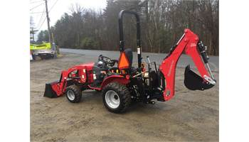 eMax 25L HST Tractor Loader & Backhoe