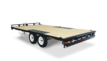 Deckover 20' Equipment Trailer