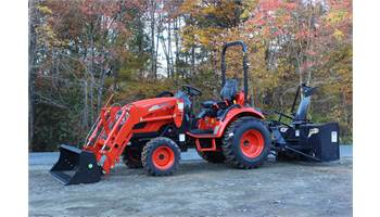 CK2510 Standard Transmission Loader & Snowblower Package!
