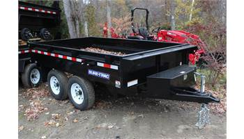 "72""x10'ft Deckover Dump Trailer"