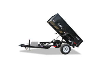 5X8 Dump Trailer (5000 GVW) *Includes Battery*