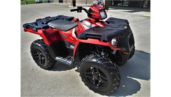 2018 SPORTSMAN 570 SP SUNSET RED