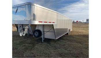 2019 Gooseneck 28' Car Hauler With Custom Upgrades