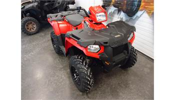 2019 Sportsman 450 HO EPS Red