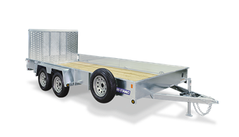 SURE-TRAC Galvanized Trailers