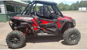 2016 RZR XP® Turbo EPS - Matte Sunset Red