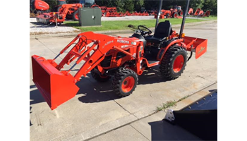 2019 B2320DT Tractor/Loader/box blade Package Deal