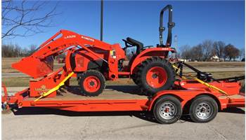2019 L3901 (HST 4WD) Tractor Loader Mower & box blade PACKAGE DEAL