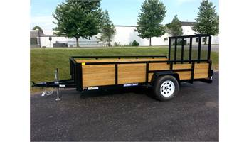 2019 7x12 HD Wood Side Utility