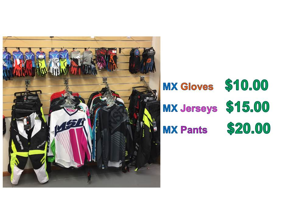 mx gear blowout