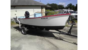 1981 Cape Fear Skiff 17