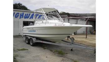 1993 Laguna 21 Walkaround  - Brand New Engine -